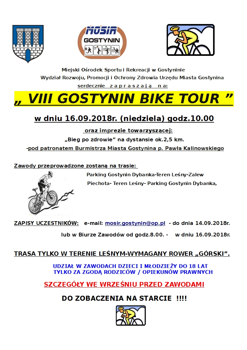 VIII Gostyniński Bike Tour